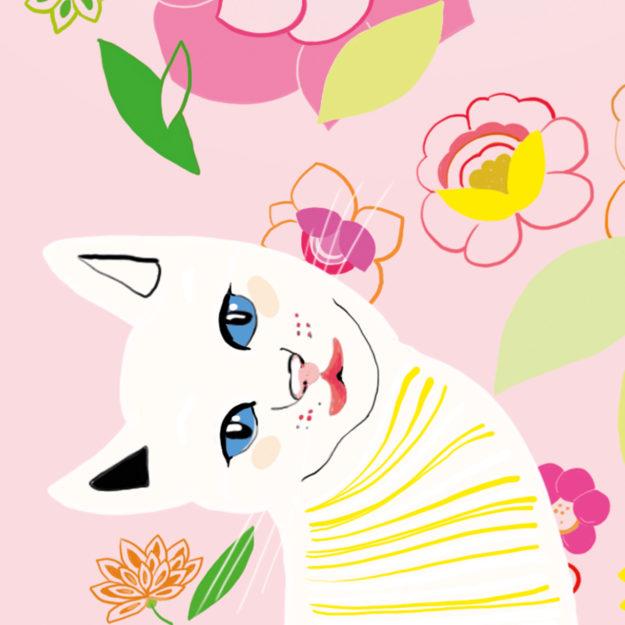 Sommerliche Illustration für Emotion Magazin