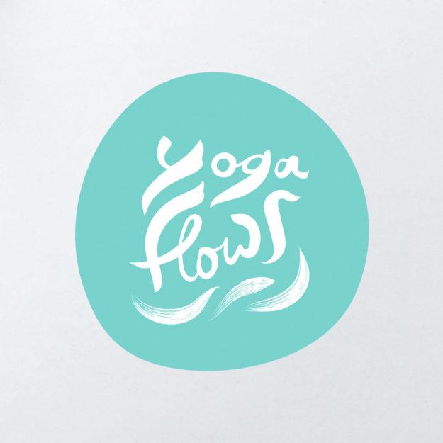 Logo für ein Yoga Studio