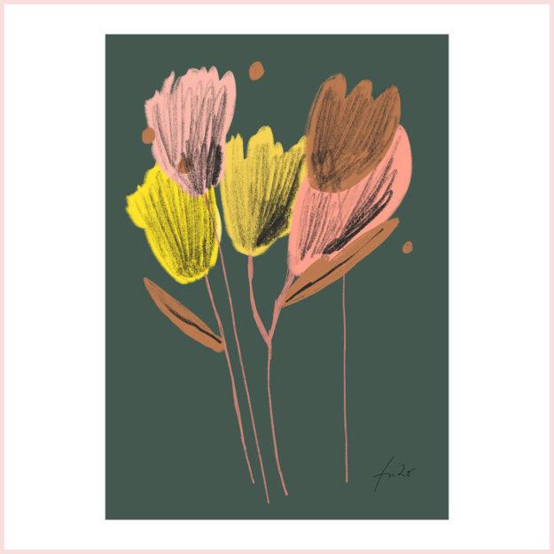 """FineArt Print """"Tulpen"""""""